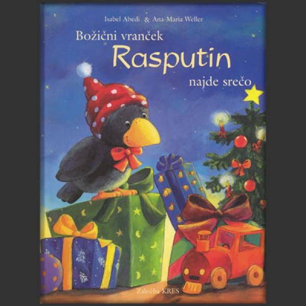 Božični vranček Rasputin najde