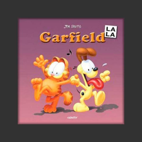 Garfield la la