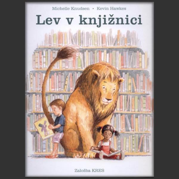 Lev v knjžnici